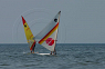 Windsurfing at New Wasaga Beach